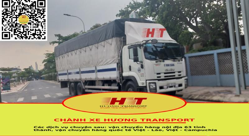 Xe của chành xe vận chuyển Hà Nội Đà Nẵng cước siêu rẻ