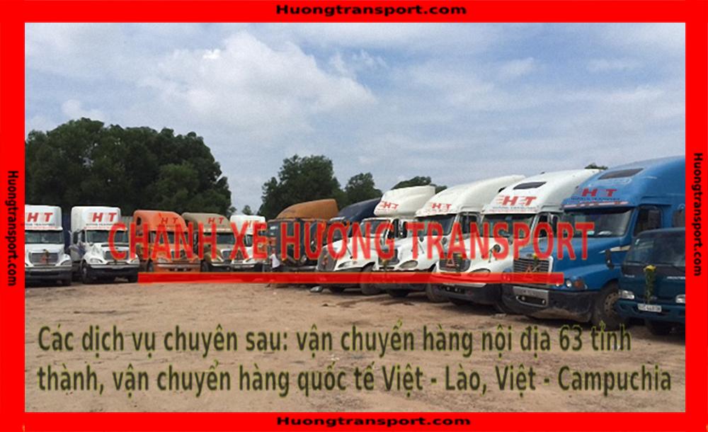 bãi xe vận chuyển hàng đi Hà Nội