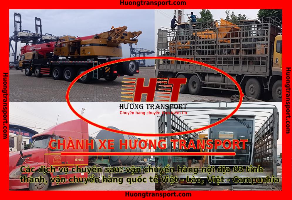 Các loại xe vận chuyển hàng đi Hà Nội